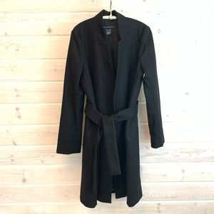 French Connection Wool Belted Coat